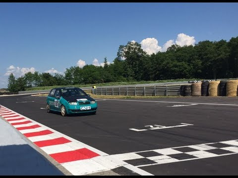 CERKLJE OB KRKI - GAJ - 1st practice Skoda Fabia 1.4 16v  gr. A - Toyo R888R - 8 hot laps