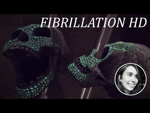 [ Fibrillation HD ] Amazing indie game with horror elements (Full Playthrough)