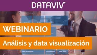 Herramienta de análisis de datos y data visualización DATAVIV'