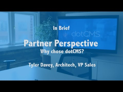 dotCMS Partner Perspective