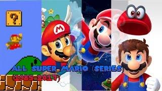 All Super Mario (Serie) Games (1985-2017)