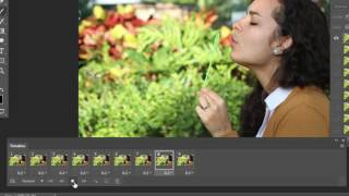Cinemagraph Photoshop Tutorial with Camera Burst Mode Photos