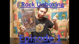 Rock Unboxing: Episode 1-Sonic And Tails Action Figure With Comic Book