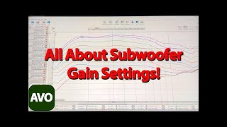 How To Set Subwoofer Gain And Why With Measurements And Explanations
