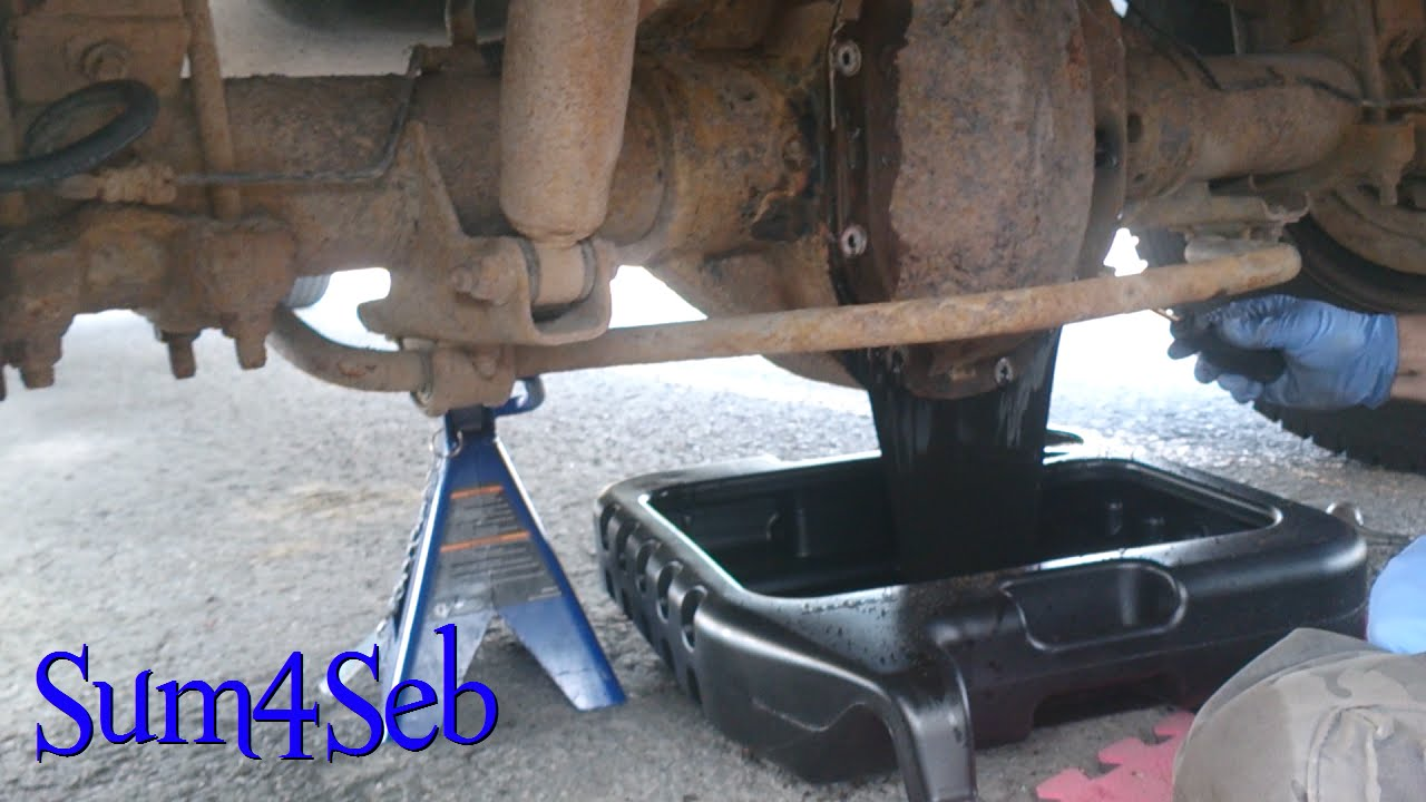 Dodge Ram 3500 Truck Sway Bar End Links and Rear Differential Fluid Change |¦| Sum4Seb Video ...