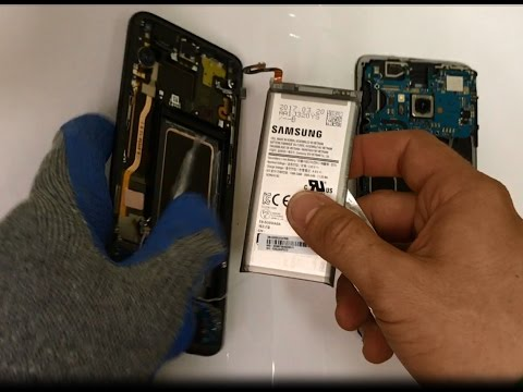 How to Replace the Battery on a Samsung Galaxy S8