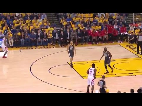 James Harden CHOKES UP Passes WIDE Open Three! Game 4 Rockets vs Warriors