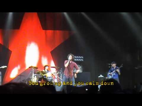 Rage Against the Machine - Clampdown - Germany 2008 with Lyrics / Subtitles