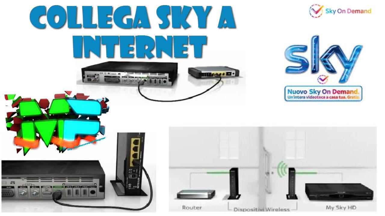 Come collegare Sky a Internet | Salvatore Aranzulla