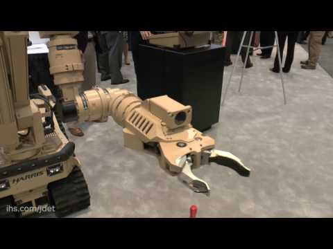 AUSA 2016: Harris Corporation T7 Robot