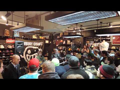Mike Gordon w/Scott Murawski - In Store Appearance - Boston MA 02/25/14