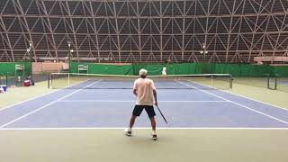 2018兵庫国際ジュニアテニストーナメント② 男子シングルス準々決勝 藤原...