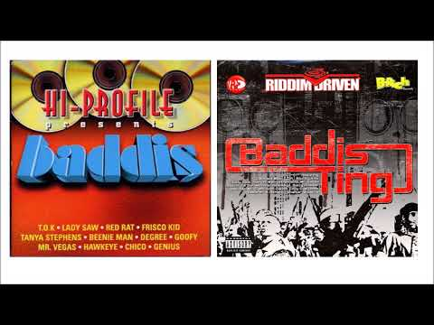 Baddis Riddim & Baddis Ting Riddim Mix ★1998 - 2005★ (Hi Profile Shams/ B-Rich Records)Mix by Djeasy - 동영상