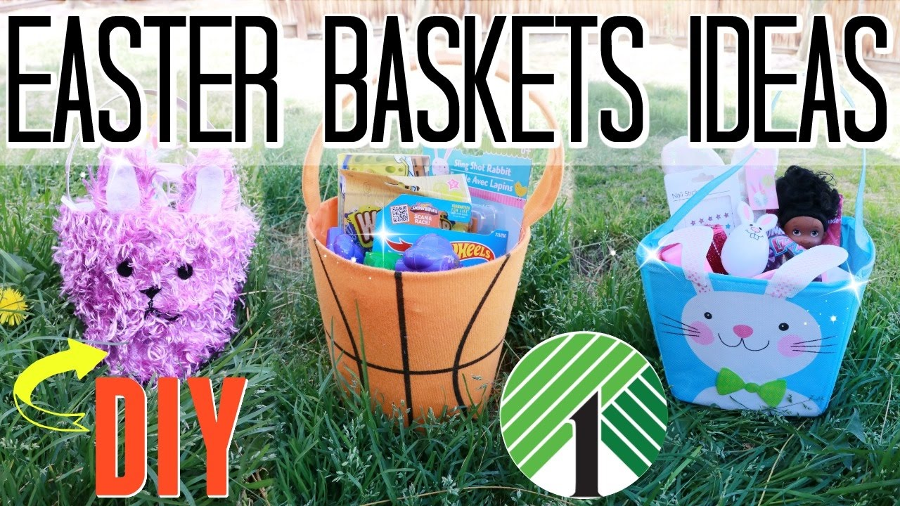 Diy easter basket gift ideas for 1 youtube diy easter basket gift ideas for 1 negle Image collections