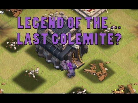 Clash of Clans | Legend of the Last GOLEMITE??? | Warroad War Recap #1