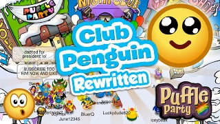 club penguin rewritten new cpps with old cp puffle party