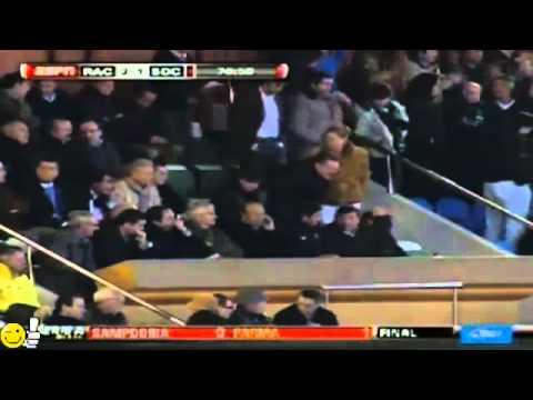 Gol Giovani Dos Santos Racing Santander vs Real Sociedad 2-1 20_03_2011