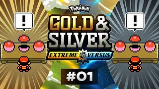 Pokemon Gold and Silver EXTREME Versus - EP01 | LET