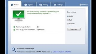 Fix: Remove Microsoft Security Essentials When It