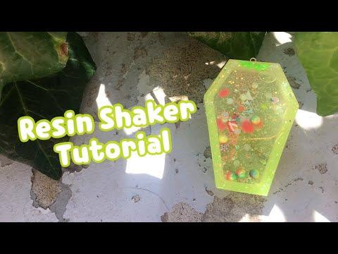 Resin Shaker Charm Tutorial | Watch Me Resin