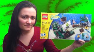 Lego Flying Dutchman 3817 Spongebob Squarepants Review