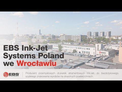 EBS Ink-Jet Systems Poland - producent przemysłowych drukarek do znakowania wyrobów