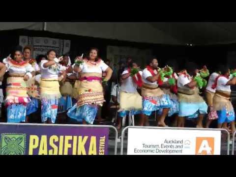 Fiji village, Pasifika Festival 2018