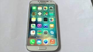 Make android look like iOS (9) 2016 latest