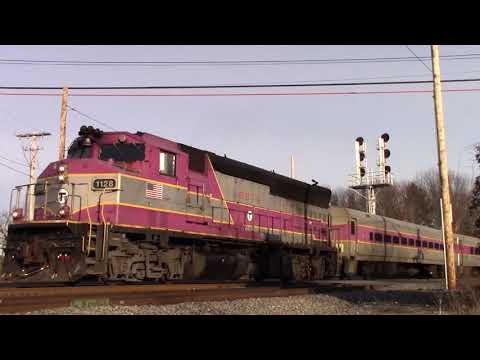 Classic Sets On The Fitchburg  Line! 60FPS 1080p [HD]