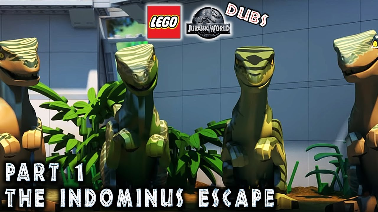 lego jurassic world the indominus escape part 1