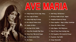 Songs To Mary,Holy Mother Of God -Top Marian Hymns And Catholic Songs-Classic Marian Hymns.Ave Maria