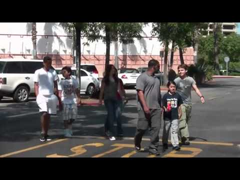 Michael Jackson's Kids Go To The Movies 6/23/2011