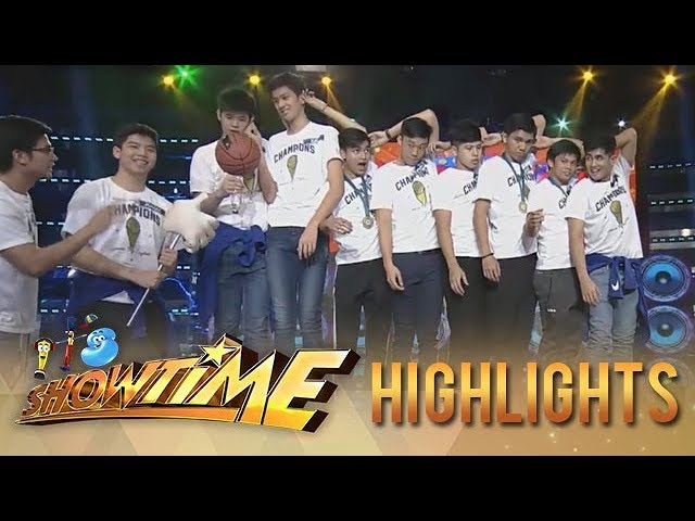 It's Showtime Cash-ya: Team Ateneo Blue Eaglets fail to finish the challenge
