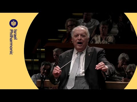 Zubin Mehta's Last 3 Minutes Conducting The Israel Philharmonic - Mahler: Symphony No. 2