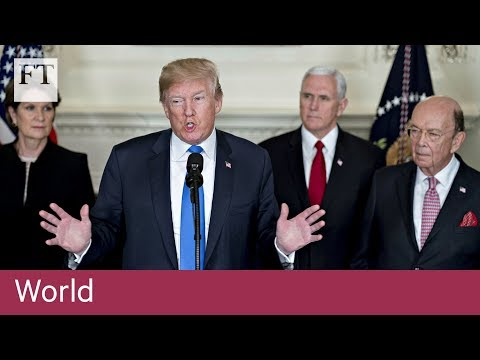 Download Youtube: Donald Trump to impose tariffs on $60bn of Chinese imports