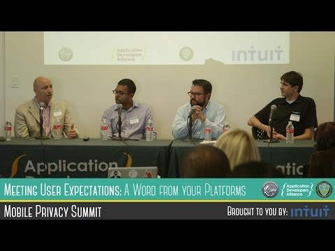 LA Mobile Privacy Summit: Meeting User Expectations: A Word from Your Platforms