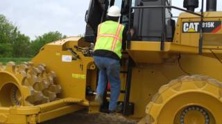 Cat® 815K Soil Compactor Structures