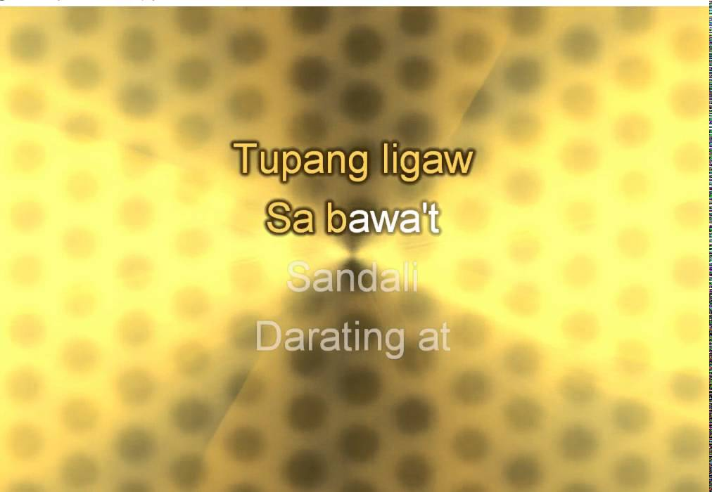 Tupang Ligaw (Instrumental Minus One Karaoke Version)
