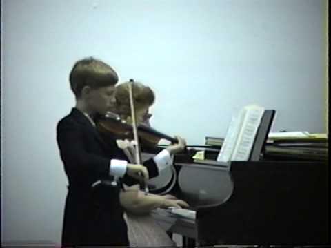 Eccles Sonata in G minor for violin, first movement (Grave)