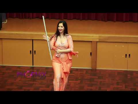 Saidi Assaya performance by Candice Frankland of Phoenix Belly Dance