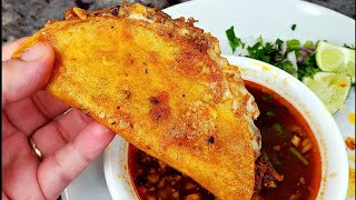 BIRRIA QUESA TACOS |  Homemade Birria Tacos And Consome Recipe | Birria De Res