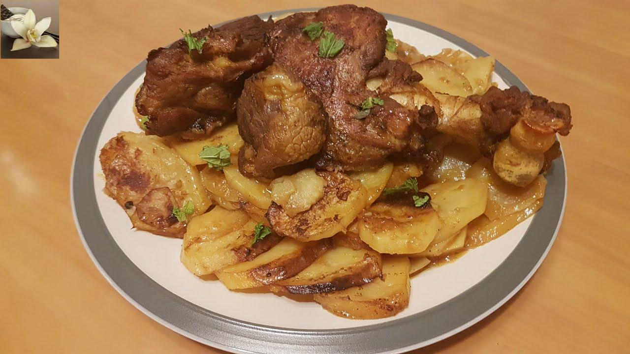 Recette De Viande D Agneau Au Four Baked Lamb Meat طريقة تحضير لحم
