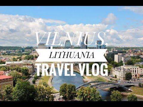 Vilnius, Lithuania Travel Vlog