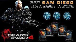 Gears of War 4 l Set Completo San Diego OMG l ¿Que pedo con las armas diamante de la T5 ? l 1080p