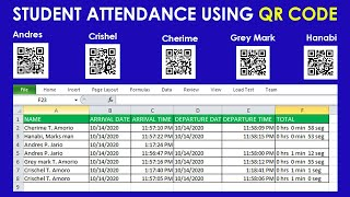 Tutorial on how to set your QR CODE Attendance for your Students [Tagalog] screenshot 3