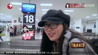 志玲机场熊抱李治廷 被叫老婆 女神撒娇呢