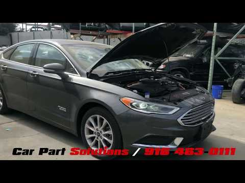 2018 FORD FUSION PLUG-IN/HYBRID | PARTS FOR SALE Stock# 19K02