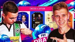 DAVCZO WYBIERA MÓJ PIERWSZY DRAFT!   FIFA 19