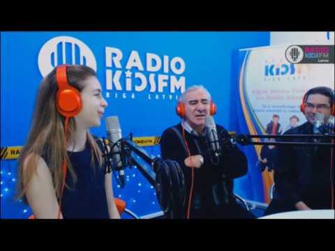 Гость RADIO KIDSFM RIGA - Михаил Казиник /15.03.2017/