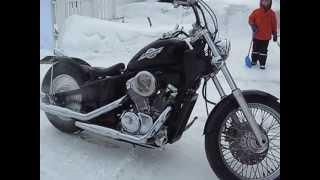 Bobber Honda Steed(Видео перед покупкой моего первого мотоцикла., 2013-05-03T08:42:13.000Z)